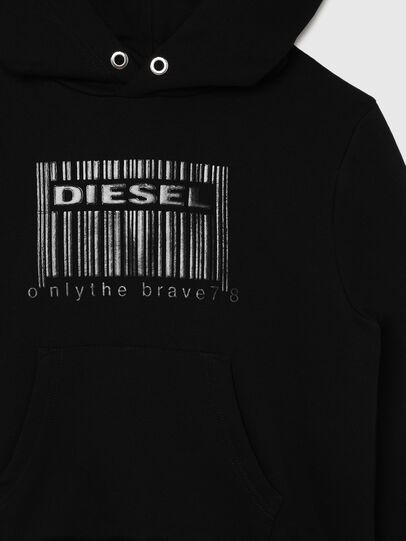 Diesel - SGIRKHOODCODE OVER, Black - Sweaters - Image 3