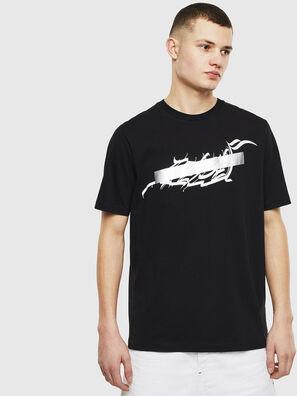 T-JUST-T11, Black - T-Shirts