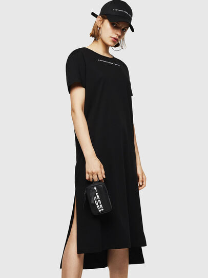 Diesel - D-FELIX-LONG, Black - Dresses - Image 1