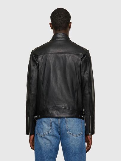 Diesel - L-CASE-KA, Black - Leather jackets - Image 2