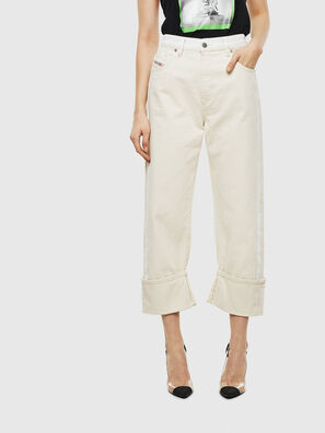 D-Reggy 009BB, White - Jeans