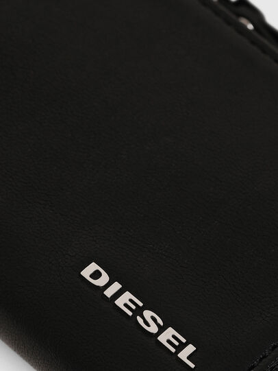 Diesel - L-PASSME, Black - Small Wallets - Image 3