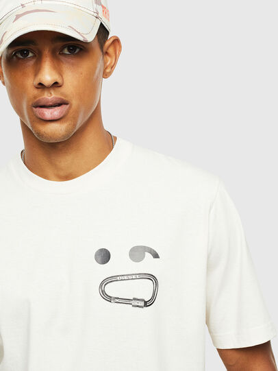 Diesel - T-JUST-T14, White - T-Shirts - Image 3