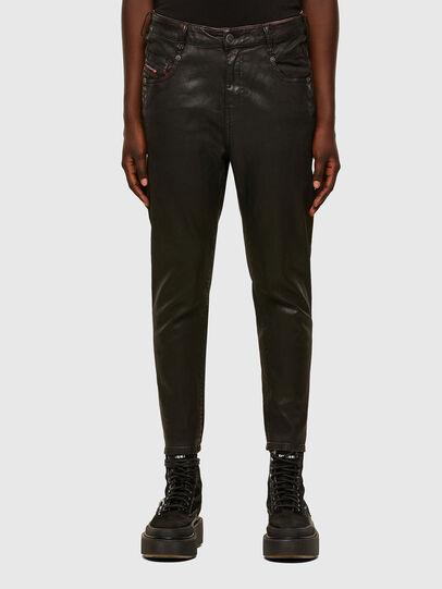 Diesel - FAYZA JoggJeans® 069PG, Black/Orange - Jeans - Image 1