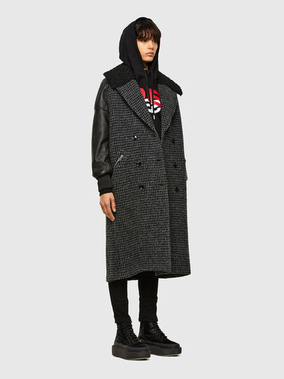 Diesel - W-ELSKE, Black - Winter Jackets - Image 6