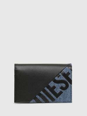 L-12 ZIP, Black/Blue - Small Wallets