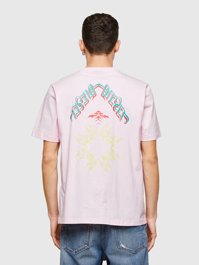 Diesel - T-JUST-E14, Face Powder - T-Shirts - Image 2