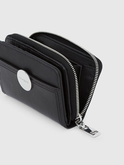 Diesel - BUSINESS LC, Black - Small Wallets - Image 5