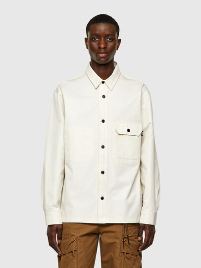 Diesel - S-BUNNELL-A, White - Shirts - Image 1