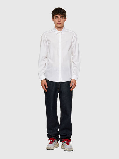 Diesel - S-BILL, White - Shirts - Image 4