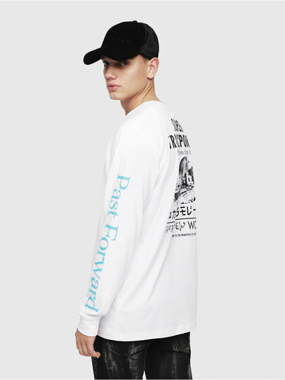 Diesel - T-JUST-LS-YB,  - T-Shirts - Image 4