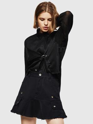 O-AMATA-A, Black - Skirts