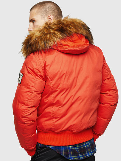 Diesel - W-BURKISK, Orange - Winter Jackets - Image 2