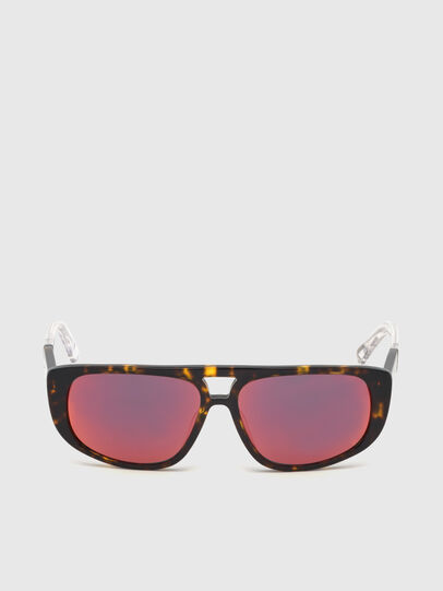 Diesel - DL0306, Brown/White - Kid Eyewear - Image 1