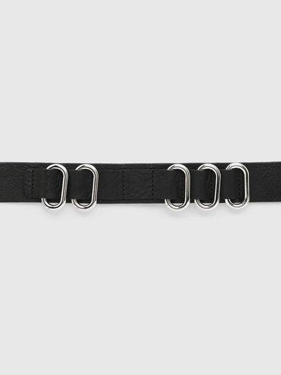 Diesel - B-MERRING, Black - Belts - Image 3