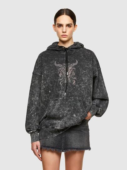 Diesel - F-MAGNUS, Black - Sweaters - Image 1