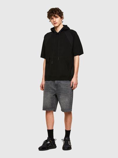 Diesel - D-STRUKT-SHORT, Black - Shorts - Image 5
