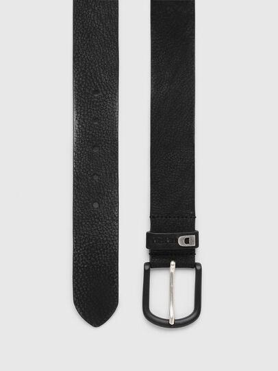 Diesel - B-WASH, Black - Belts - Image 3