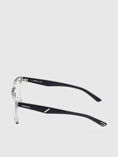Diesel - DL5399, White/Black - Eyeglasses - Image 3