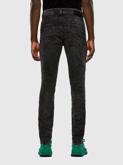 Diesel - D-Reeft JoggJeans 009FZ, Black/Dark grey - Jeans - Image 2