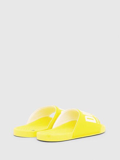 Diesel - FF 01 SLIPPER YO, Yellow - Footwear - Image 3