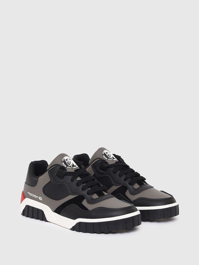 Diesel - S-RUA LOW SK, Grey - Sneakers - Image 2
