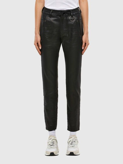 Diesel - KRAILEY JoggJeans® 069QP, Black/Dark grey - Jeans - Image 1