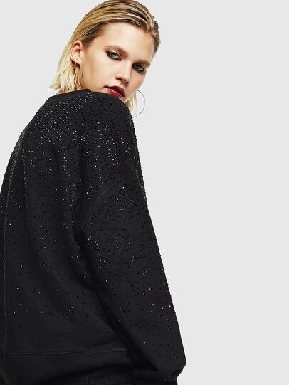 Diesel - F-MAGDA-D, Black - Sweaters - Image 5
