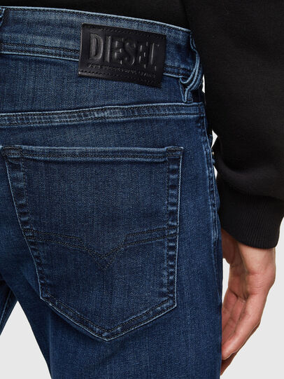 Diesel - Sleenker 009QI, Dark Blue - Jeans - Image 4