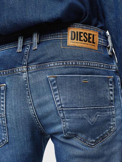 Diesel - Thommer 0097W, Dark Blue - Jeans - Image 4