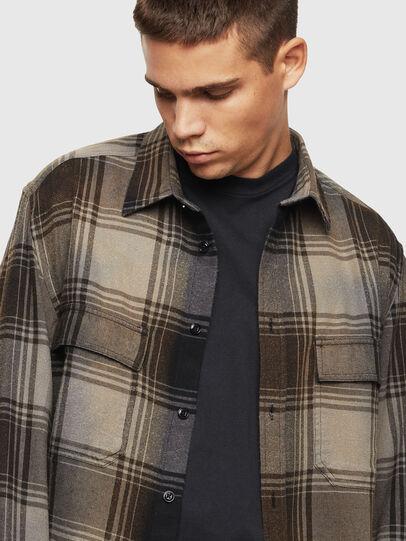Diesel - S-MILLERIN, Black - Shirts - Image 4