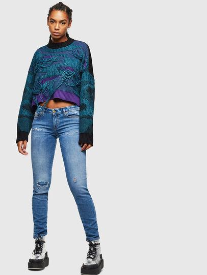 Diesel - Gracey JoggJeans 069IH, Light Blue - Jeans - Image 5
