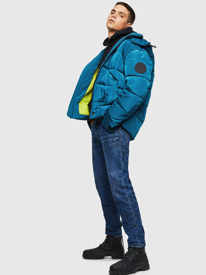 Diesel - W-SMITH-YA-WH, Blue Marine - Winter Jackets - Image 6