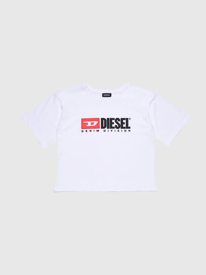 Diesel - TJACKYD, White - T-shirts and Tops - Image 1