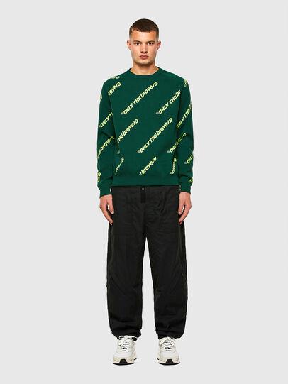 Diesel - K-DAVIS, Dark Green - Knitwear - Image 5