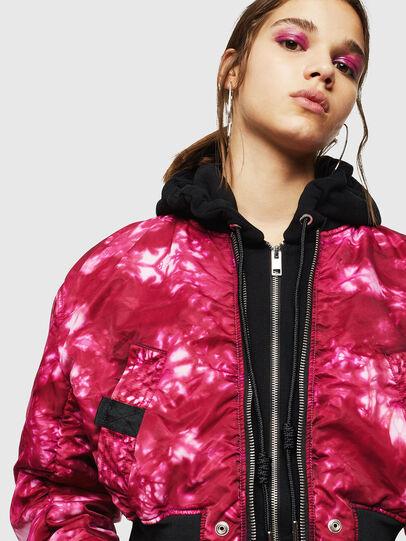 Diesel - G-IKAS, Pink - Jackets - Image 5
