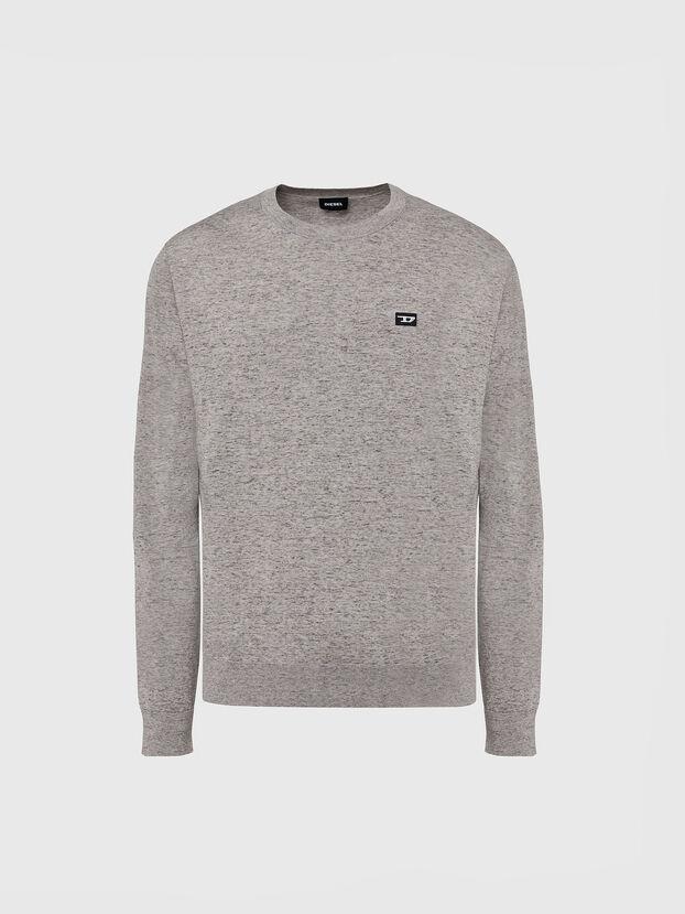 K-CROFT-TOMI, Grey - Knitwear
