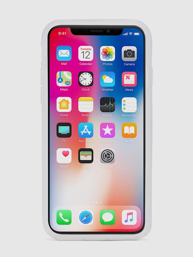 Diesel - BLAH BLAH BLAH IPHONE X CASE, White - Cases - Image 4