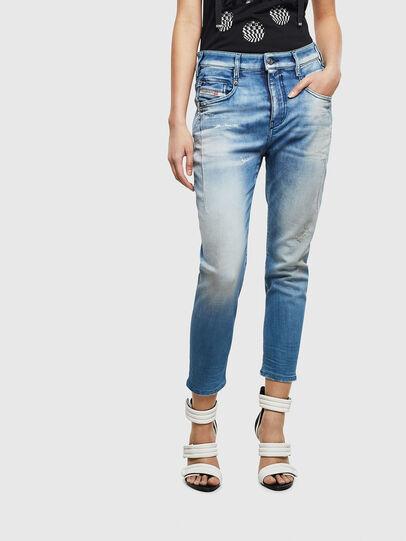 Diesel - Fayza JoggJeans 0099Q, Medium blue - Jeans - Image 1