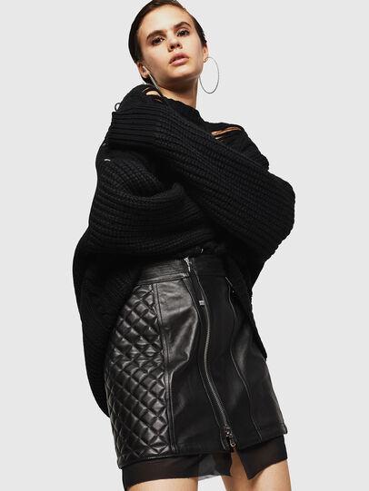 Diesel - OLESIA,  - Leather skirts - Image 4
