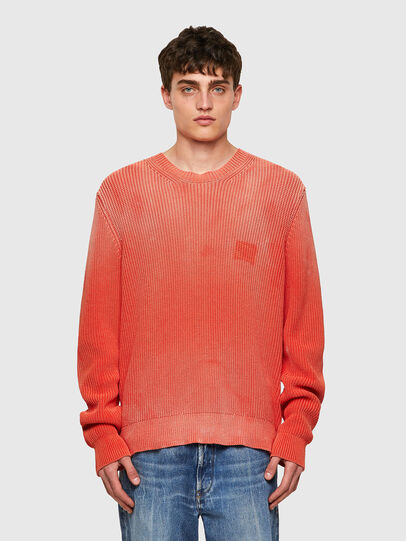 Diesel - K-KENTUCKY, Orange - Knitwear - Image 1