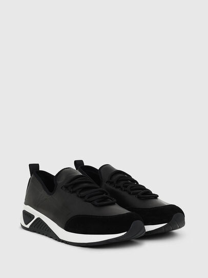 Diesel - S-KBY, Black Leather - Sneakers - Image 2