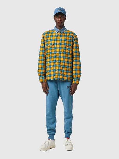 Diesel - S-BUN, Blue/Yellow - Shirts - Image 4
