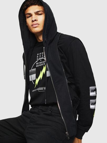 Diesel - L-BRANDO, Black - Leather jackets - Image 4