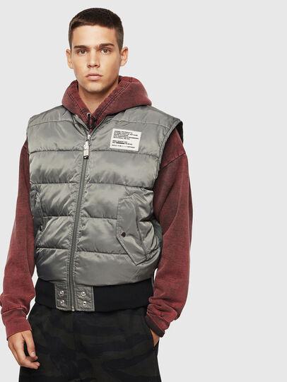 Diesel - W-KOSLOV-SL, Olive Green - Winter Jackets - Image 1
