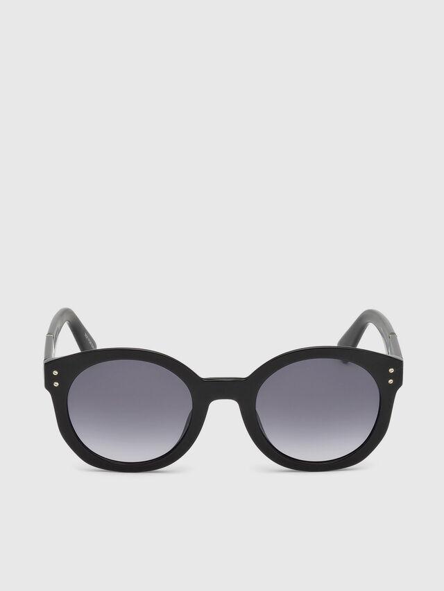 Diesel DL0252, Black - Eyewear - Image 1
