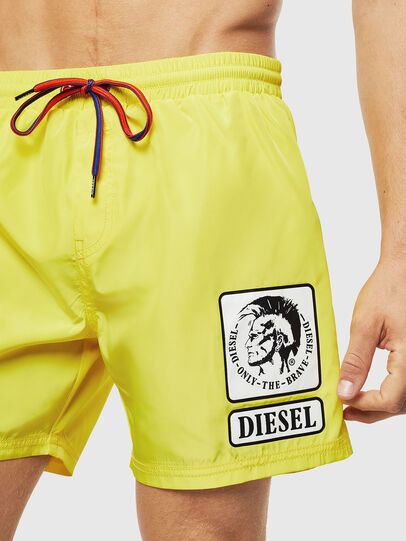 Diesel - BMBX-WAVE 2.017, Yellow - Swim shorts - Image 3