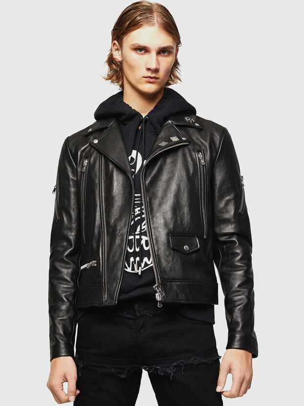 L-PERF, Black - Leather jackets