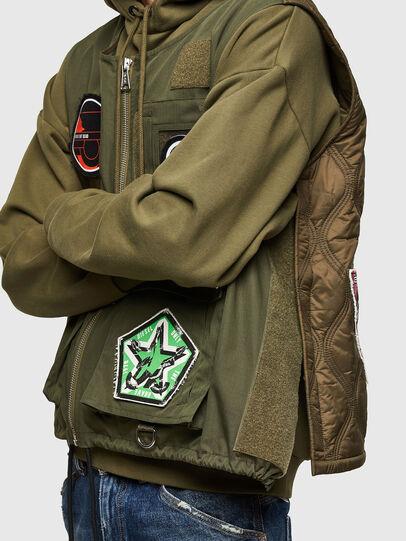 Diesel - J-LUKI, Olive Green - Jackets - Image 5