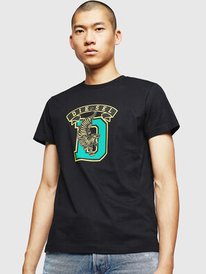 T-DIEGO-B4, Black - T-Shirts